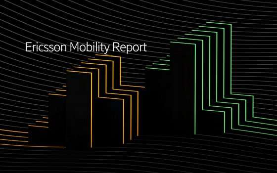 Ericsson Mobility Report: tempi e modi del 5G
