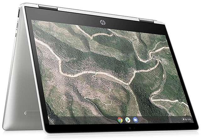 Il Chromebook x360 12b di HP con Chrome OS