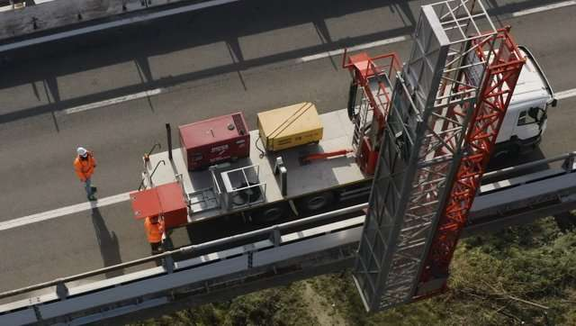 Manutenzione e monitoraggio della rete autostradale