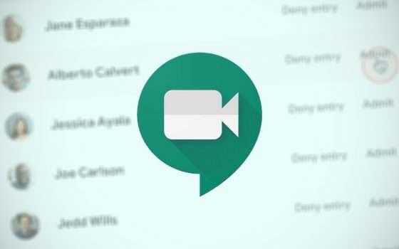 Google Meet: tutti dentro in un solo click