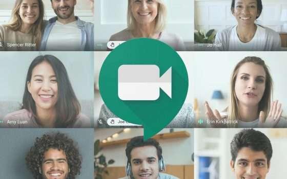 Google Meet ora consente di alzare la mano