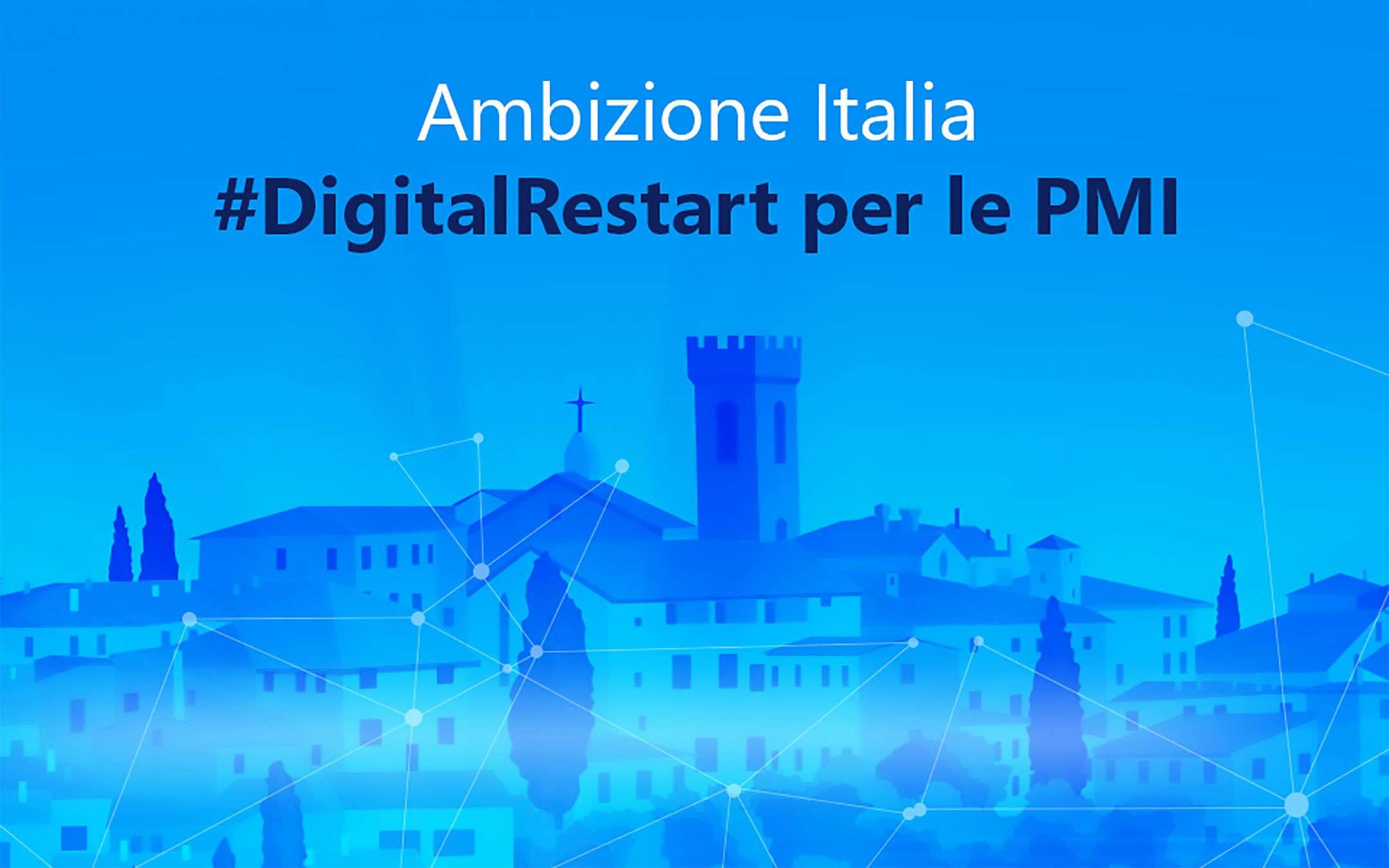 Ambition Italy #DigitalRestart: an eBook for SMEs