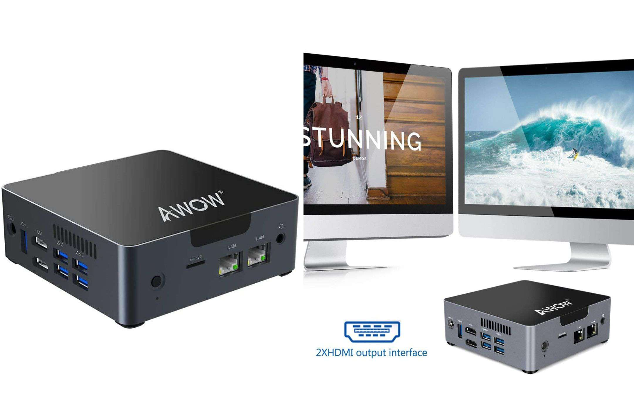 Mini PC with Intel quad core for less than 200 euros