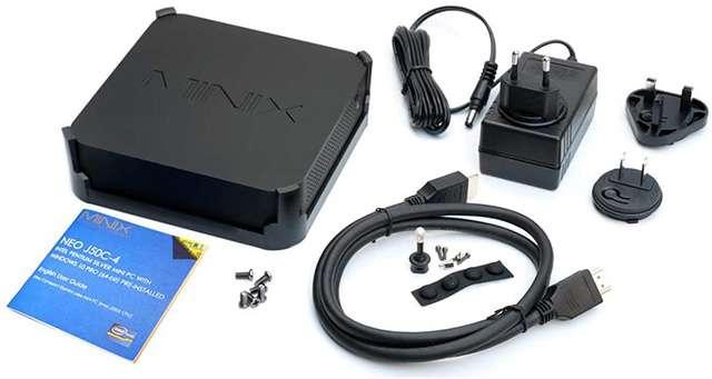 Il contenuto della confezione per il Mini PC di Minix