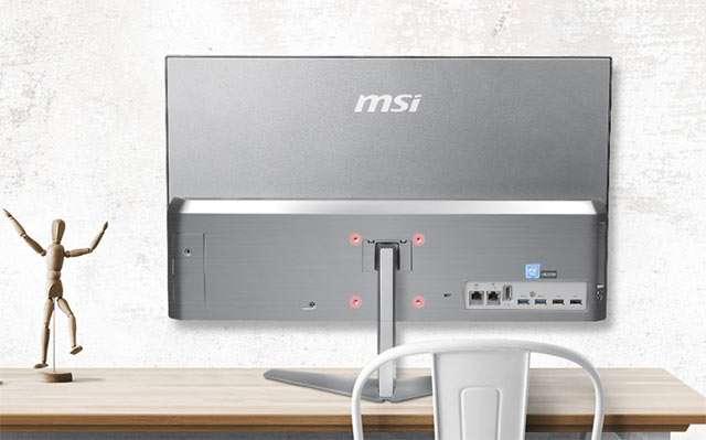 MSI PRO 24X, il PC all-in-one da 23,8 pollici con processore Intel