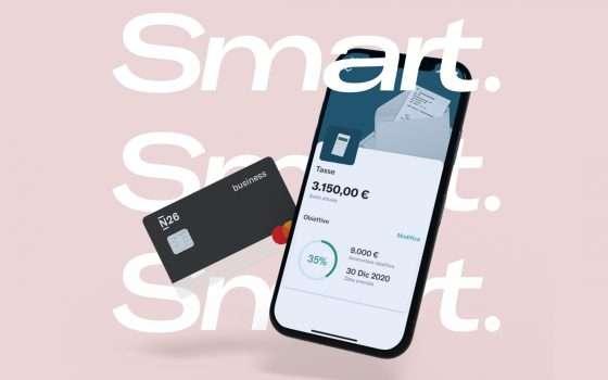 Nasce N26 Smart: il conto digitale premium