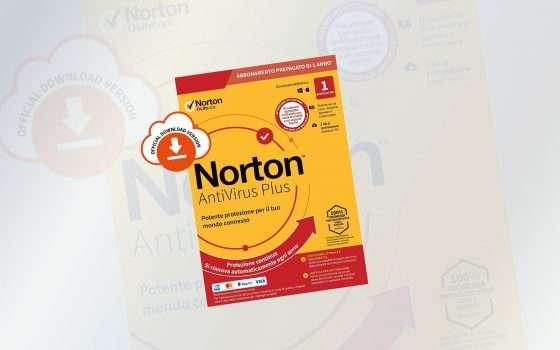 Norton Antivirus: 10 euro per 1 anno di protezione