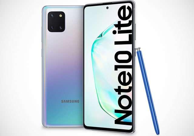 Il Samsung Galaxy Note 10 Lite con pennino incluso