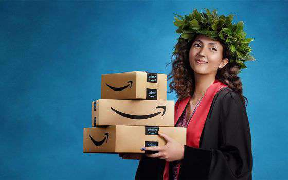 Amazon Prime Student è gratis per 90 giorni