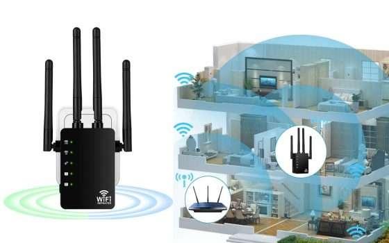 Ripetitore Wi-Fi compatibile con Fibra in offerta