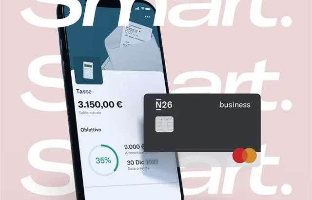 La carta N26 Business Smart