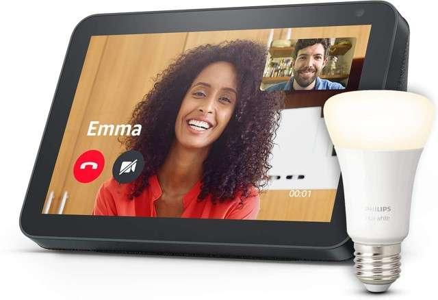 Amazon Echo Show e Smart Bulb