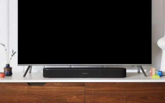 Sonos Beam, soundbar con sconto e senza compromessi