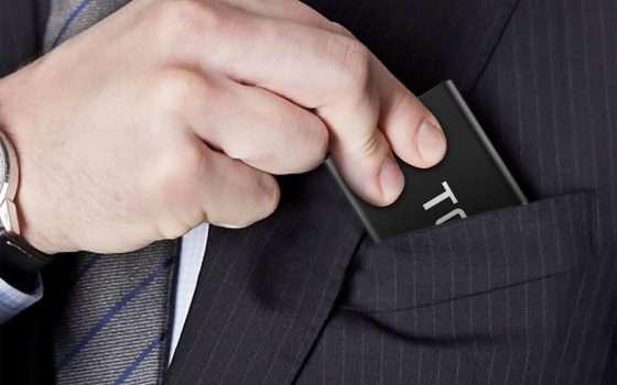 Metti in tasca la SSD: 120 GB con sconto del 20%