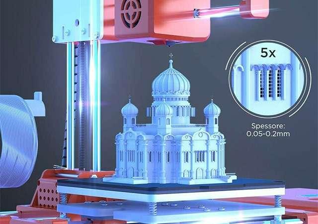 Labists X1, la stampante 3D compatta e semplice da utilizzare