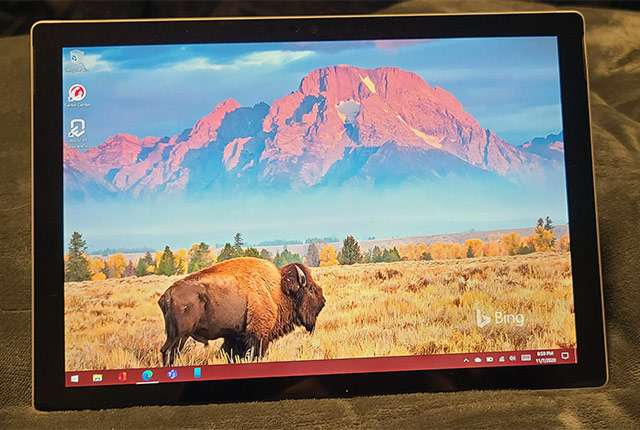 Il design di Microsoft Surface Pro 8