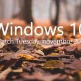 Windows 10: c'è il Patch Tuesday di novembre 2020
