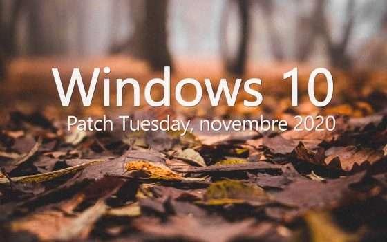 Windows 10: c'è il Patch Tuesday di novembre 2020
