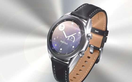 Samsung Galaxy Watch3, su Amazon scivola a -28%