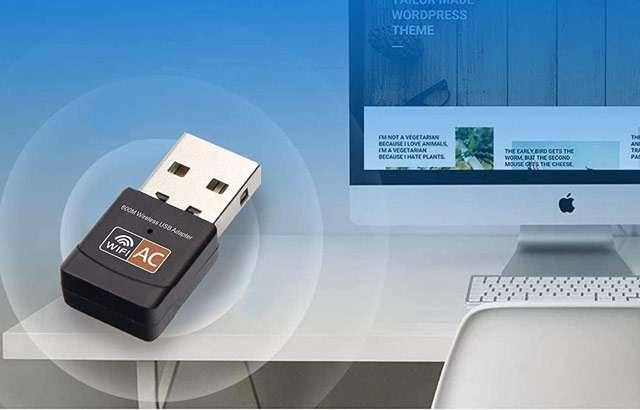 L'adattatore WiFi USB di iAmotus