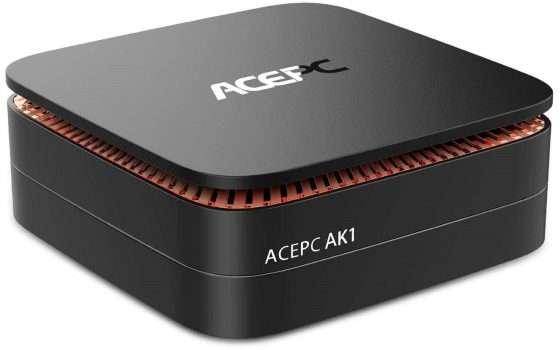 Mini PC ACEPC AK1 da 4/64GB a meno di 150€ su Amazon