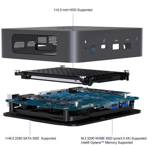 Minisforum Mini PC Core i3 - 2