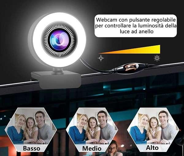 Webcam Ovifm LED Ring - 1