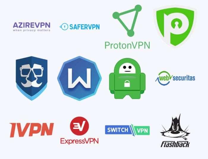VPN utilizzabili con Vilfo