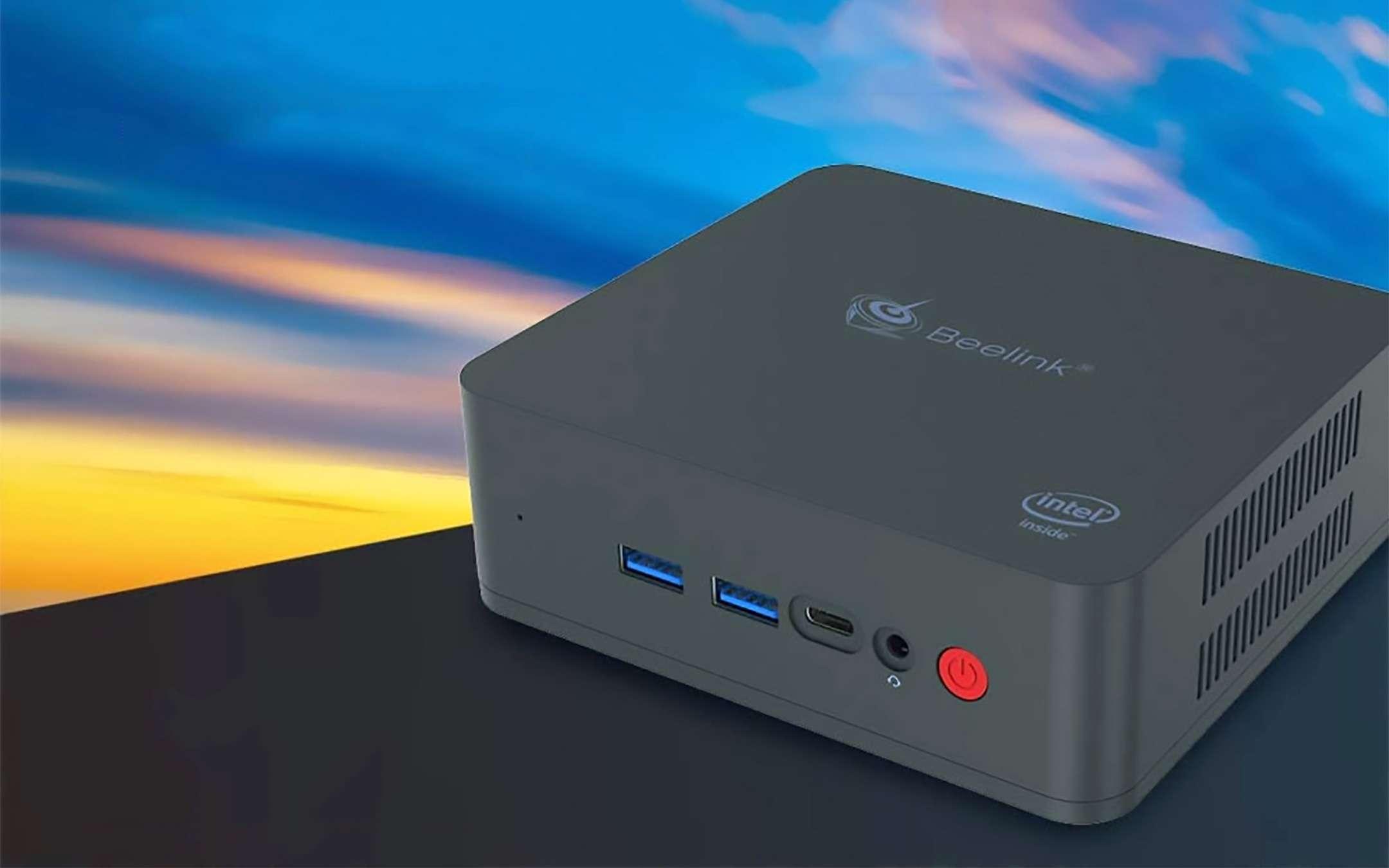 Mini PC, discount: Beelink U55 with Intel Core at -25%