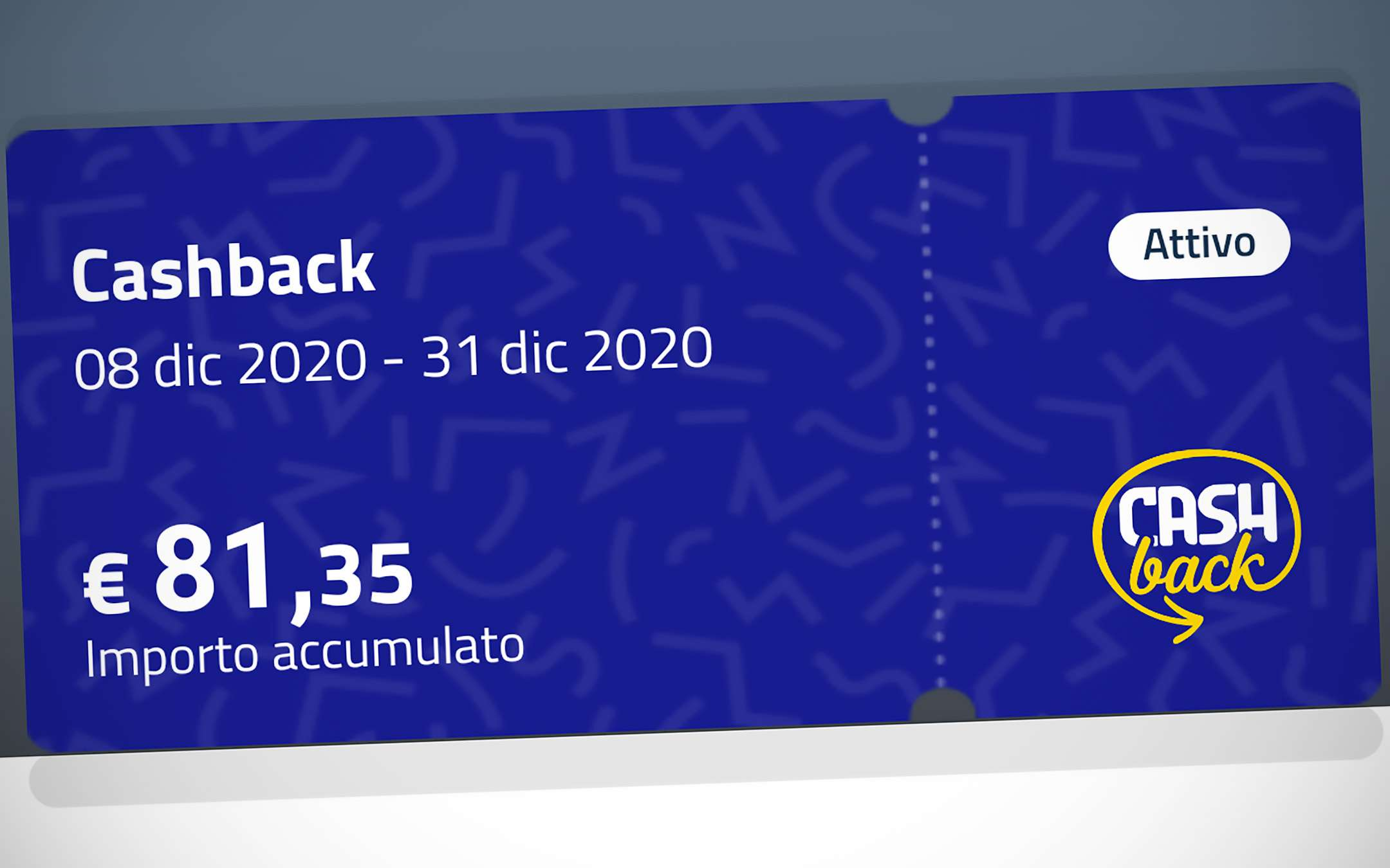 Cashback, the last transactions of the first phase