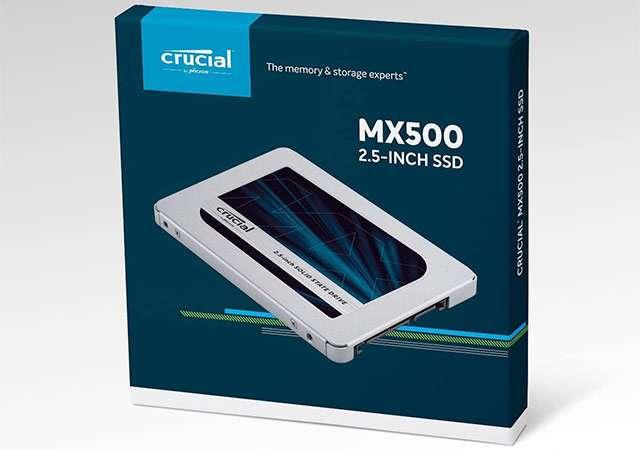 La SSD da 2 TB della serie Crucial MX500