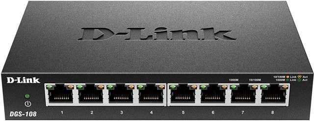 Offerta D-Link DGS-108 8 porte