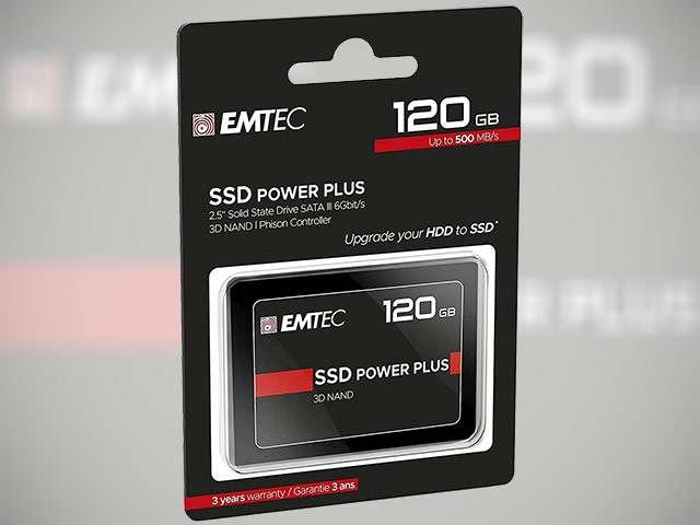 L'unità SSD da 120 GB della serie EMTEC X150