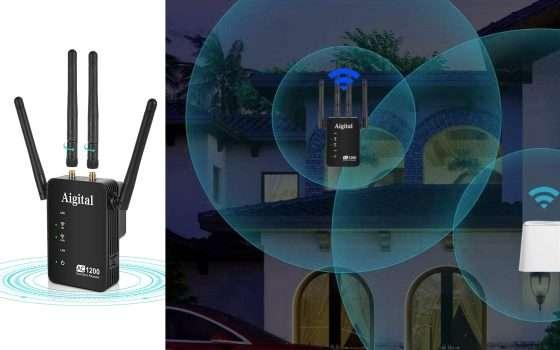Ripetitore Wi-Fi multifunzione in offerta
