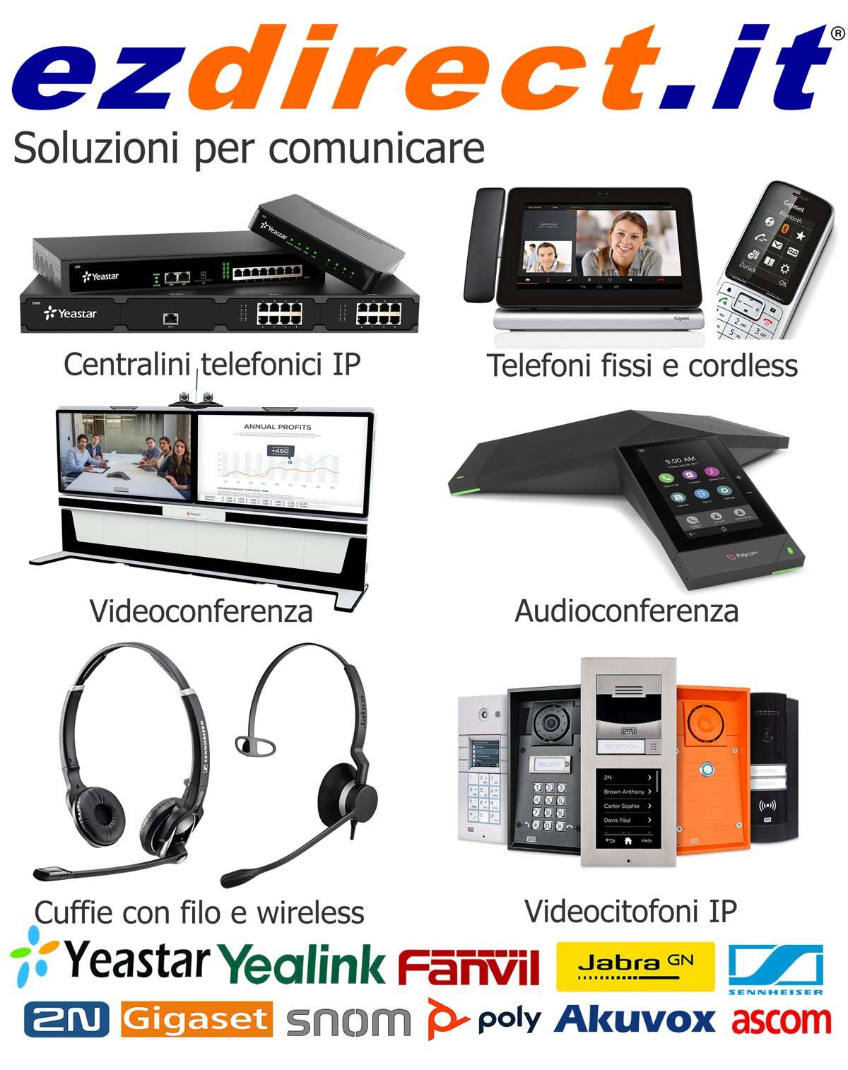 Ezdirect: tutti i servizi per la Unified Communication