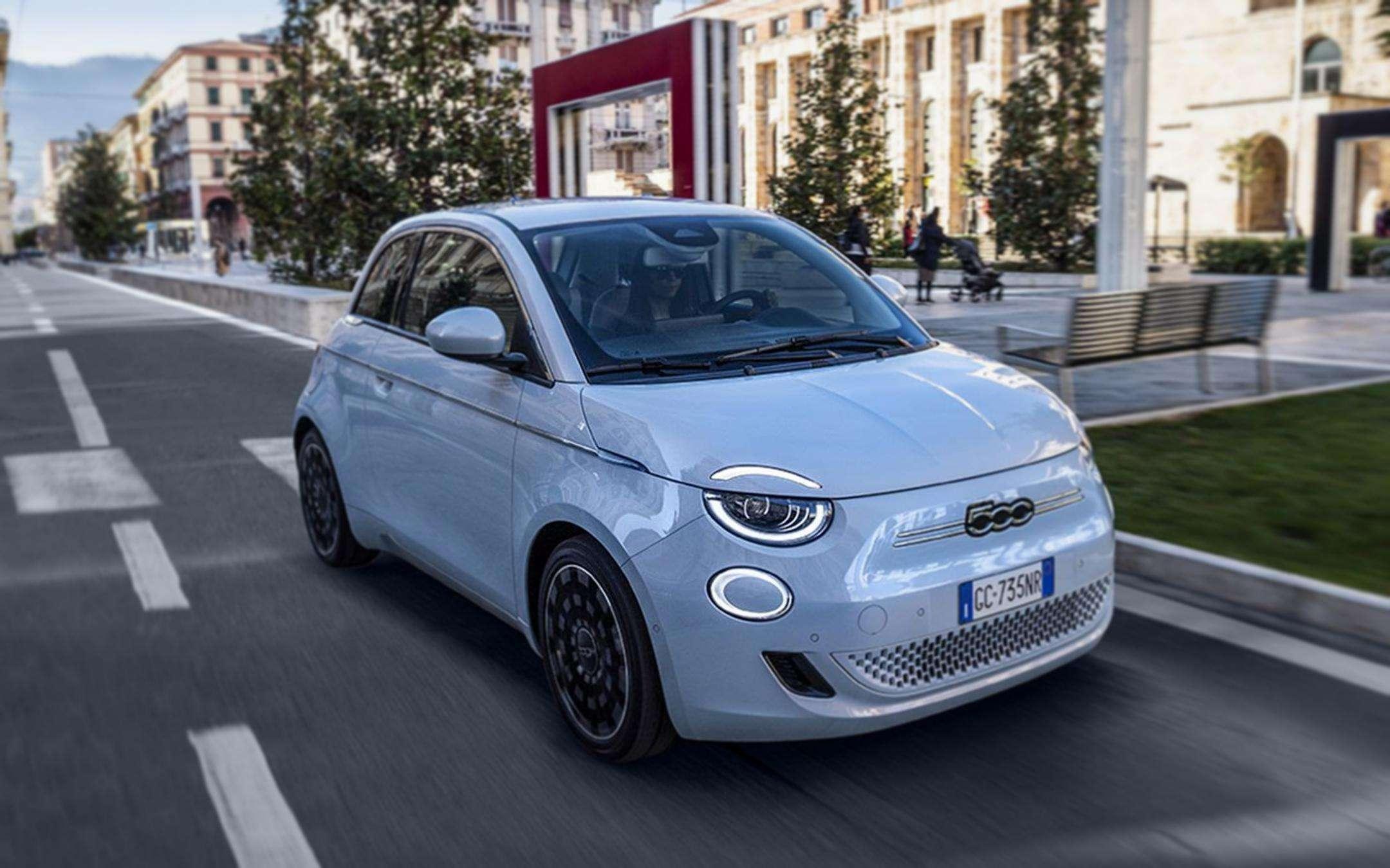 Hey, Fiat: Alexa gets in the Fiat Nuova 500