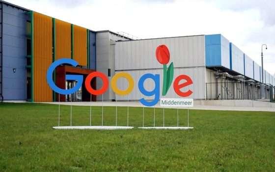 I data center Google in Europa e la sostenibilità