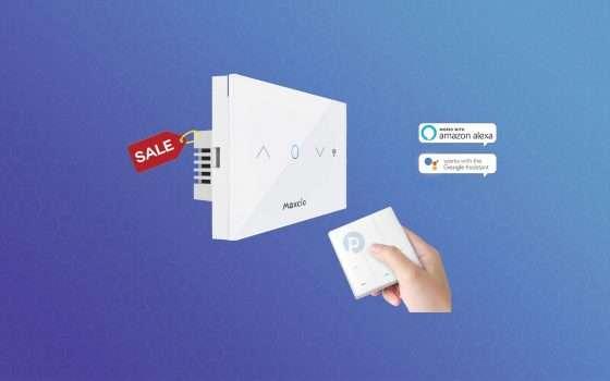 Tapparelle smart: l'interruttore con Alexa ad un prezzo super