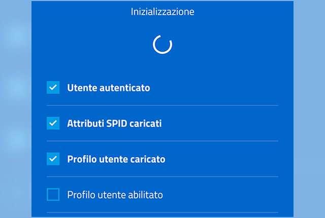 Problemi all'app IO: Inizializzazione