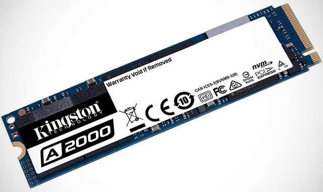 Kingston A2000, unità SSD da 500 GB