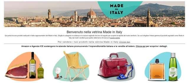 Made in Italy su Amazon