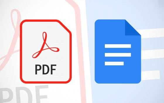 Da PDF a Documenti Google: miglioramenti in vista