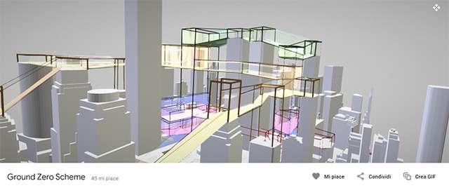 Uno dei contenuti 3D messi a disposizione sulla piattaforma Poly di Google