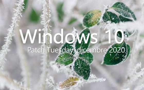 Windows 10: KB4592438, il Patch Tuesday di dicembre