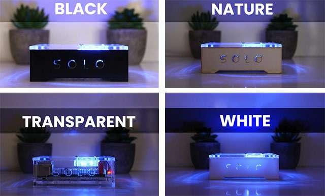 Le quattro versioni di SOLO ID1 mini