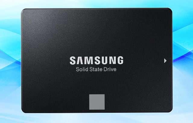 L'unità da 500 GB della serie Samsung SSD 860 EVO