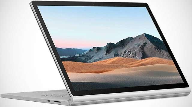 Il laptop Surface Book 3 di Microsoft