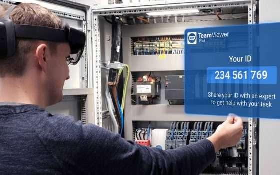 TeamViewer Pilot 3: interoperabilità e HoloLens 2