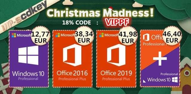 VIP SCDKey, offerte di Natale