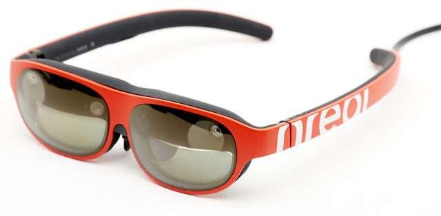 Gli occhiali Nreal di Vodafone